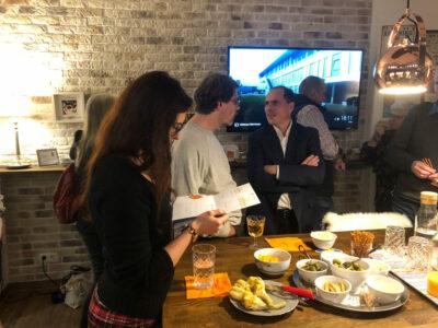 Teilnehmer beim ITSM Stammtisch zum Thema ITIL 4 im November 2018 von ITSM Partner in Wien.