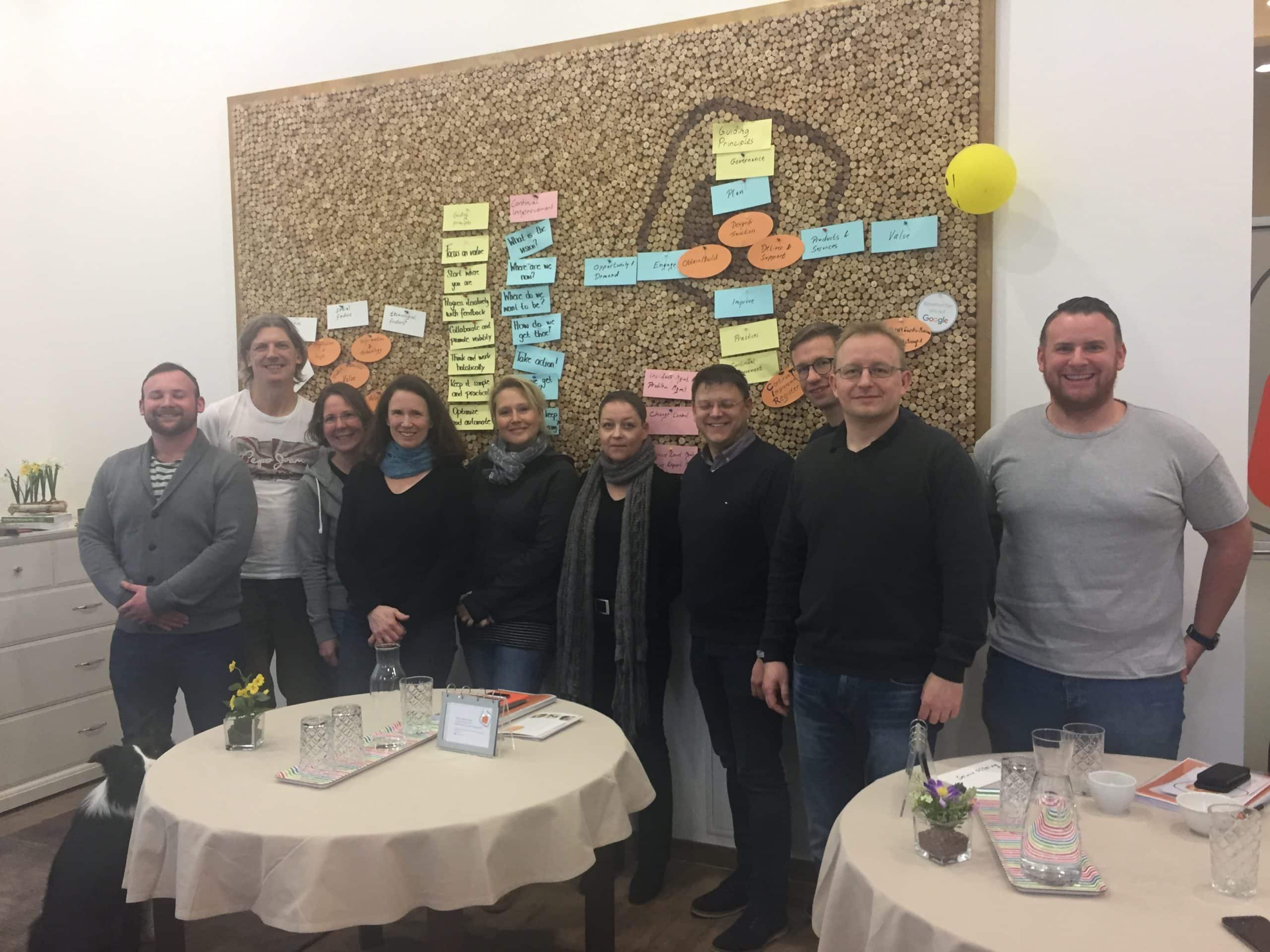 Teilnehmer des ITIL 4 Foundation Kurses bei ITSM Partner