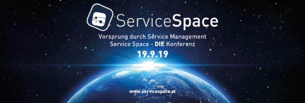 Service Space - Vorsprung durch Service Management - Konferenz am 19.9.19 in Wien