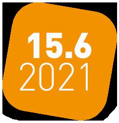 oranges Icon für den virtuellen ITSM Stammtisch von ITSM Partner am 15.Juni 2021
